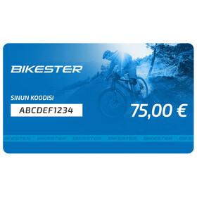 Bikester lahjakortti 75 €